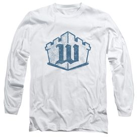 Castle Monogram Long Sleeve Adult T-Shirt