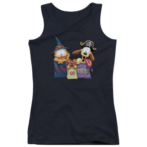 Garfield Grab Bags Juniors Tank Top