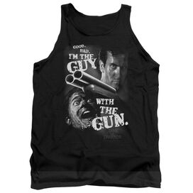 Army Of Darkness Guy With The Gun - Adult Tank - Black