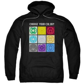 Dc Choose Your Color Adult Pull Over Hoodie