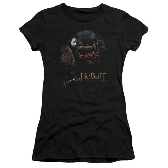The Hobbit Cauldron Short Sleeve Junior Sheer T-Shirt