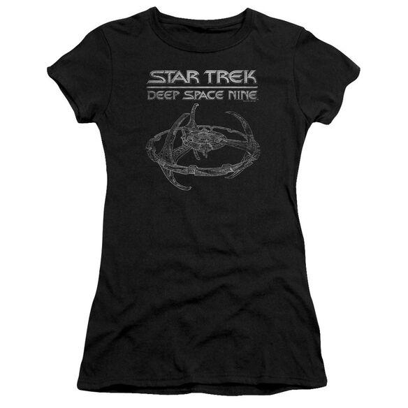 Star Trek Ds9 Station Premium Bella Junior Sheer Jersey