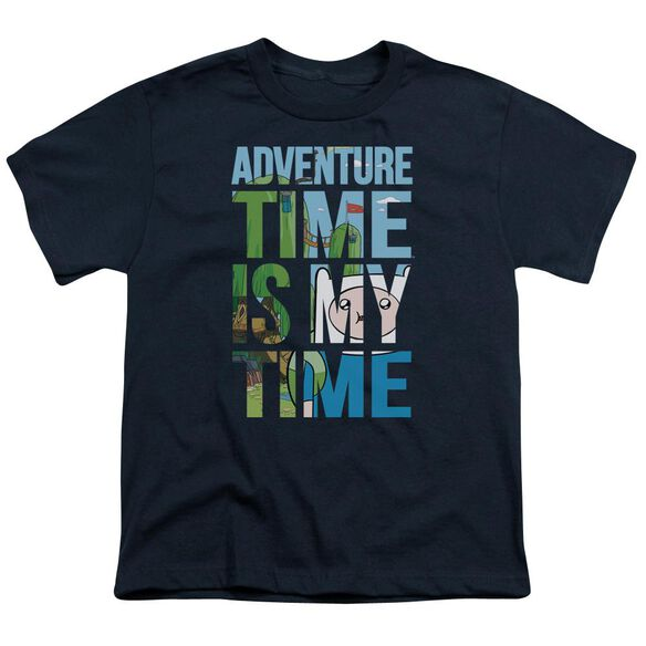 Adventure Time My Time Short Sleeve Youth T-Shirt