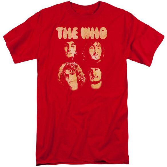 The Who Who Boys Short Sleeve Adult Tall T-Shirt