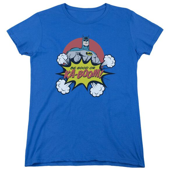 Dc Kaboom Short Sleeve Womens Tee Royal T-Shirt