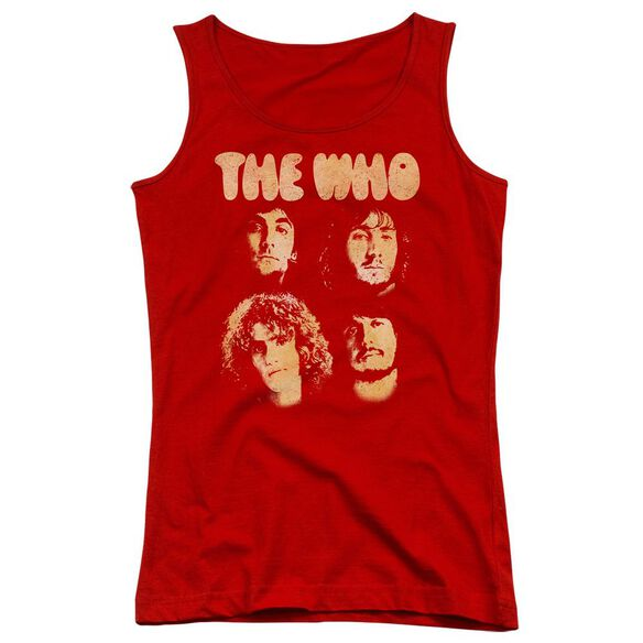 The Who Who Boys Juniors Tank Top
