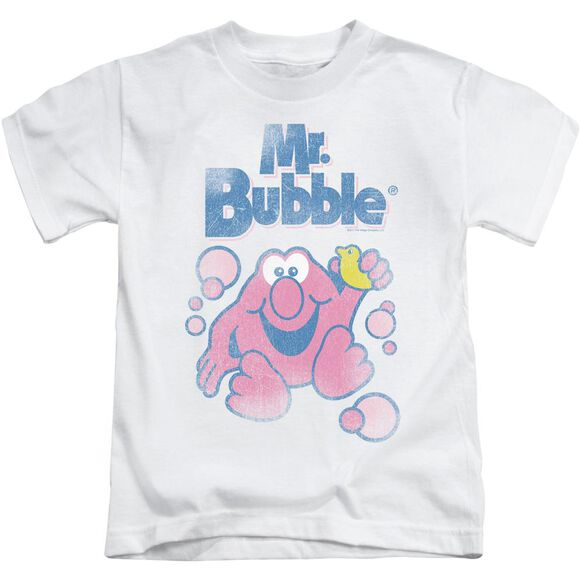 Mr Bubble 80 S Logo Short Sleeve Juvenile T-Shirt