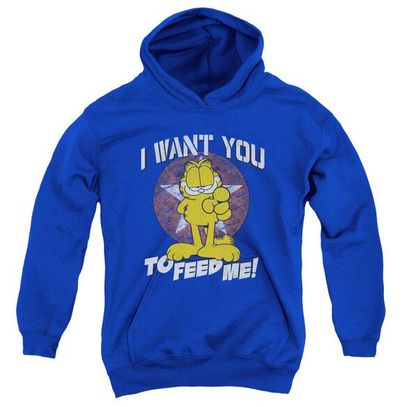 Garfield I Want You Youth Pull Over Hoodie