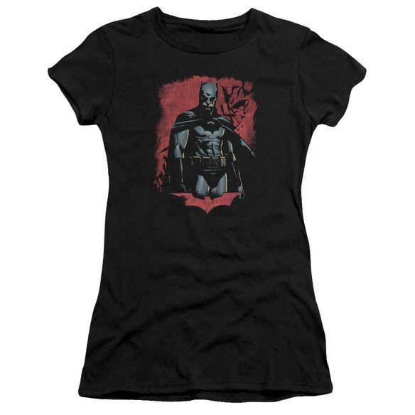 Batman Begins Dead Town Short Sleeve Junior Sheer T-Shirt