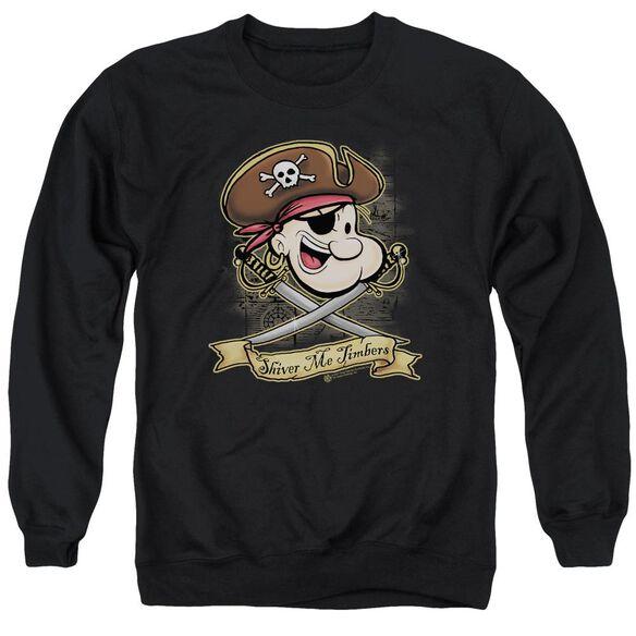Popeye Shiver Me Timbers Adult Crewneck Sweatshirt