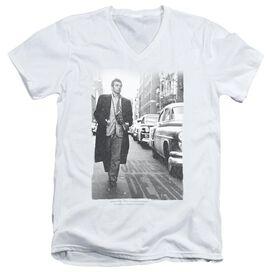 Dean On The Street Short Sleeve Adult V Neck T-Shirt