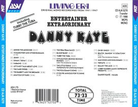 Danny Kaye - Entertainer Extraordinary 1941-1947