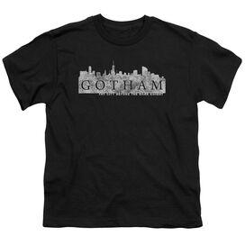 Gotham Skyline Logo Short Sleeve Youth T-Shirt