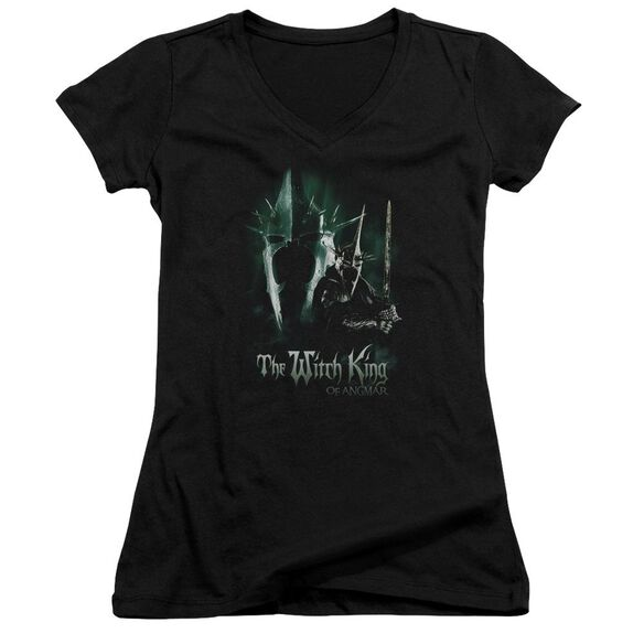 Lor Witch King Junior V Neck T-Shirt