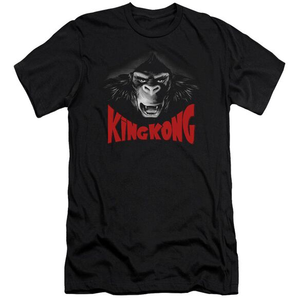 King Kong Kong Face Short Sleeve Adult T-Shirt