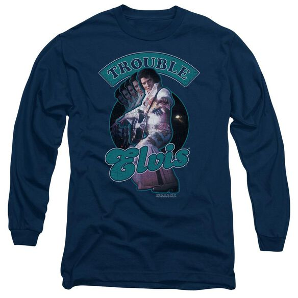 ELVIS PRESLEY TOTAL TROUBLE-L/S T-Shirt