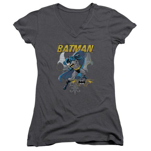Batman Urban Gothic Junior V Neck T-Shirt