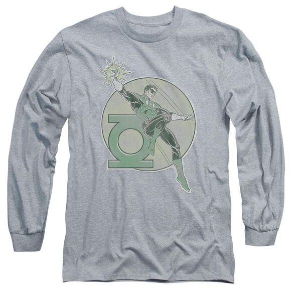 Dco Retro Lantern Iron On Long Sleeve Adult Athletic T-Shirt
