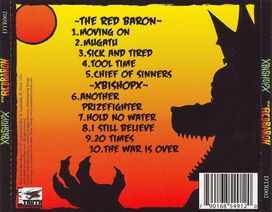 xBishopx/The Red Baron - xBishopx/The Red Baron [Split CD]