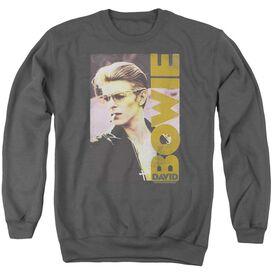 David Bowie Smokin Adult Crewneck Sweatshirt