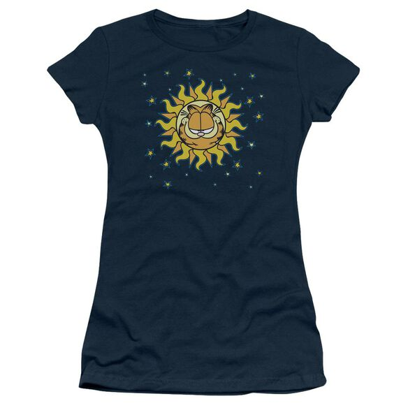 Garfield Celestial Short Sleeve Junior Sheer T-Shirt