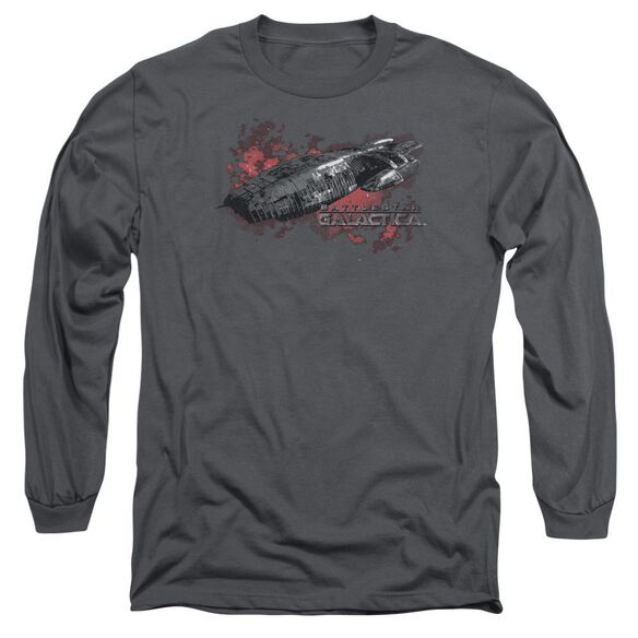 Bsg Galactica Long Sleeve Adult T-Shirt