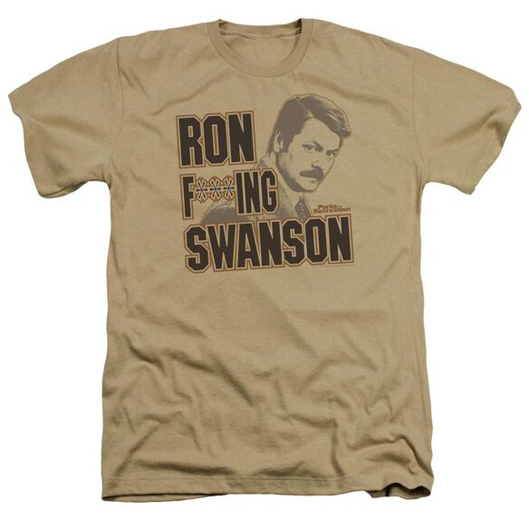 Parks And Rec Ron F***Ing Swanson Adult Heather