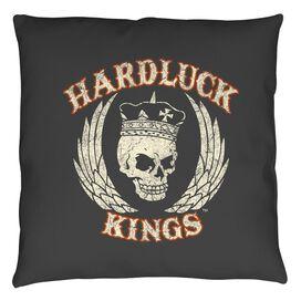Hardluck Kings Red Cream Distressed Throw
