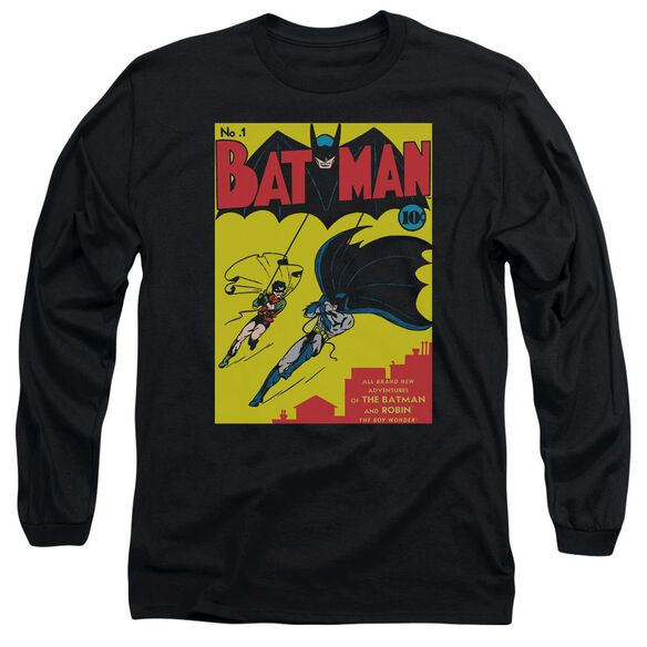 Batman Batman First Long Sleeve Adult T-Shirt