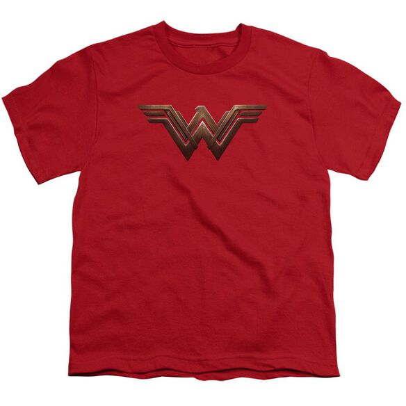 Batman V Superman Ww Shield Short Sleeve Youth T-Shirt