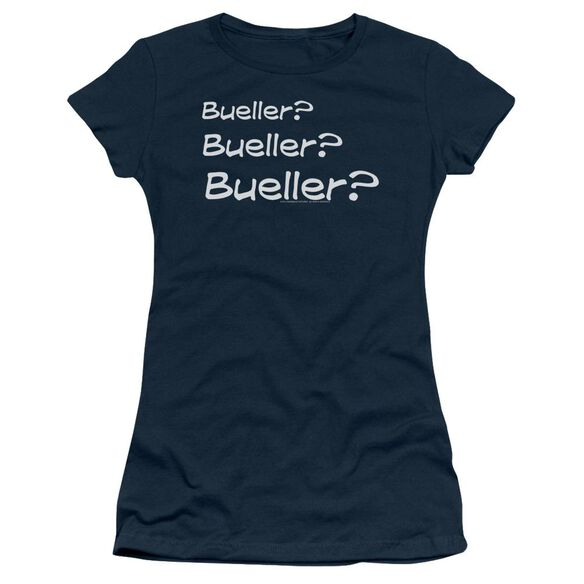 Ferris Bueller Bueller? Short Sleeve Junior Sheer T-Shirt