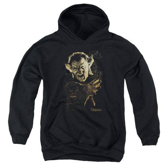 Grimm Murcielago Youth Pull Over Hoodie