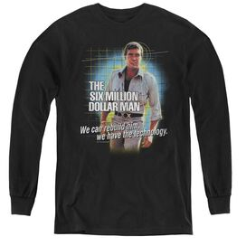 Six Million Dollar Man Technology - Youth Long Sleeve Tee