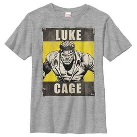 Luke Cage Name Poster Youth T-Shirt