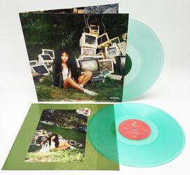SZA - Ctrl [Exclusive Coke Bottle Clear Vinyl]