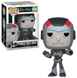 Funko Pop!: Rick & Morty - Purge Suit Rick