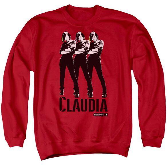 Warehouse 13 Claudia Adult Crewneck Sweatshirt