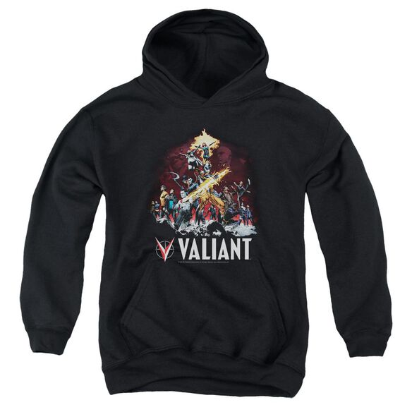 Valiant Fire It Up Youth Pull Over Hoodie