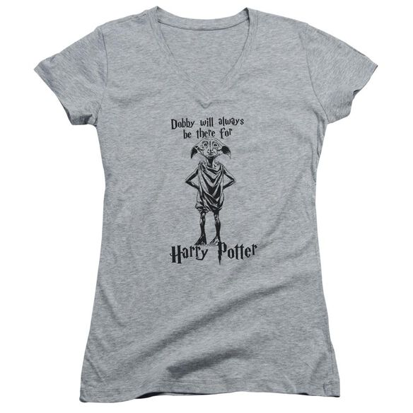 Harry Potter Always Be There Junior V Neck Athletic T-Shirt