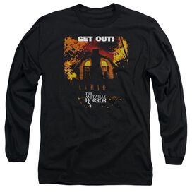 Amityville Horror Get Out Long Sleeve Adult T-Shirt