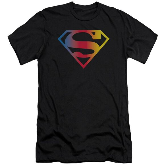 Superman Gradient Superman Logo Premuim Canvas Adult Slim Fit