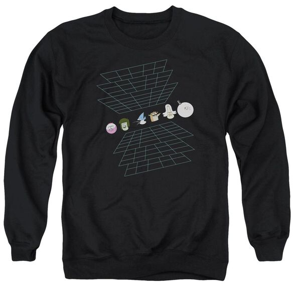The Regular Show Regular Grid Adult Crewneck Sweatshirt
