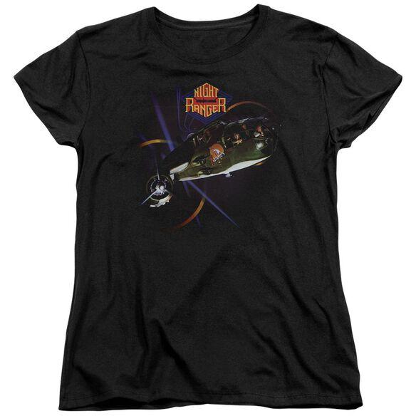 Night Ranger 7 Wishes Short Sleeve Womens Tee T-Shirt