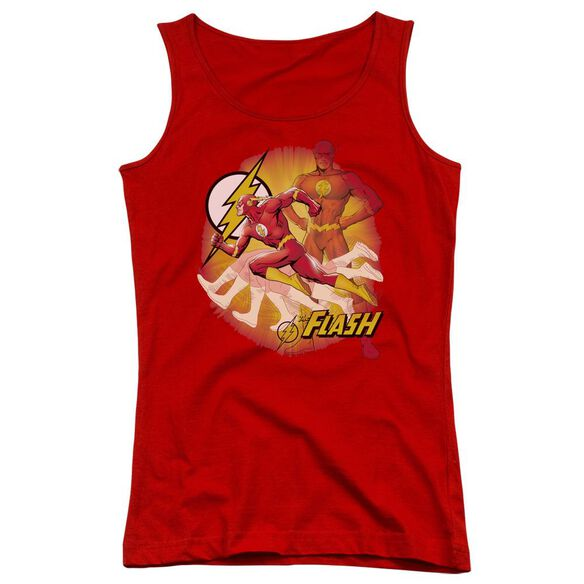 Jla Lightning Fast Juniors Tank Top