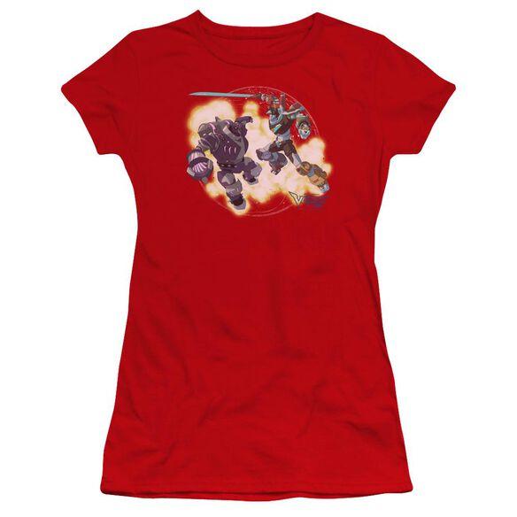 Voltron Robeast Hbo Short Sleeve Junior Sheer T-Shirt