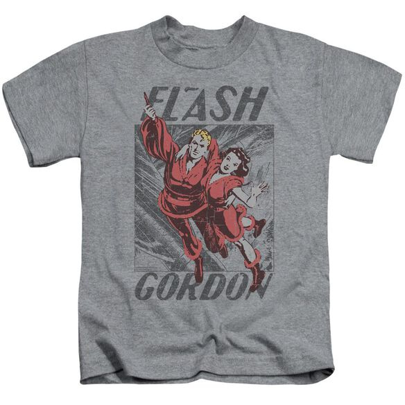 Flash Gordon To The Rescue Short Sleeve Juvenile Athletic Heather T-Shirt