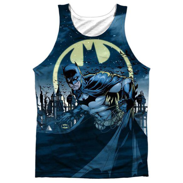 Batman Heed The Call Adult 100% Poly Tank Top