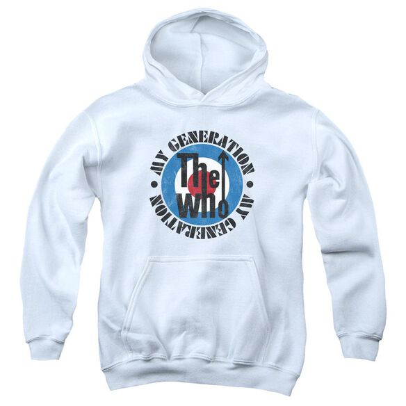 The Who My Generation Youth Pull Over Hoodie