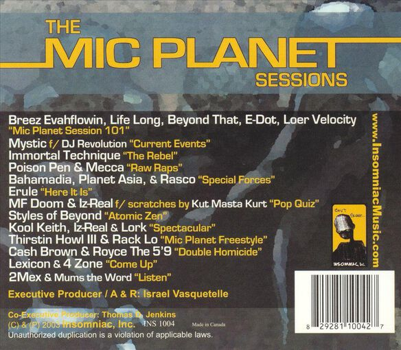 Mic Planet Sessions 0903