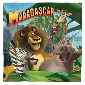 Madagascar Jungle Time Bandana White